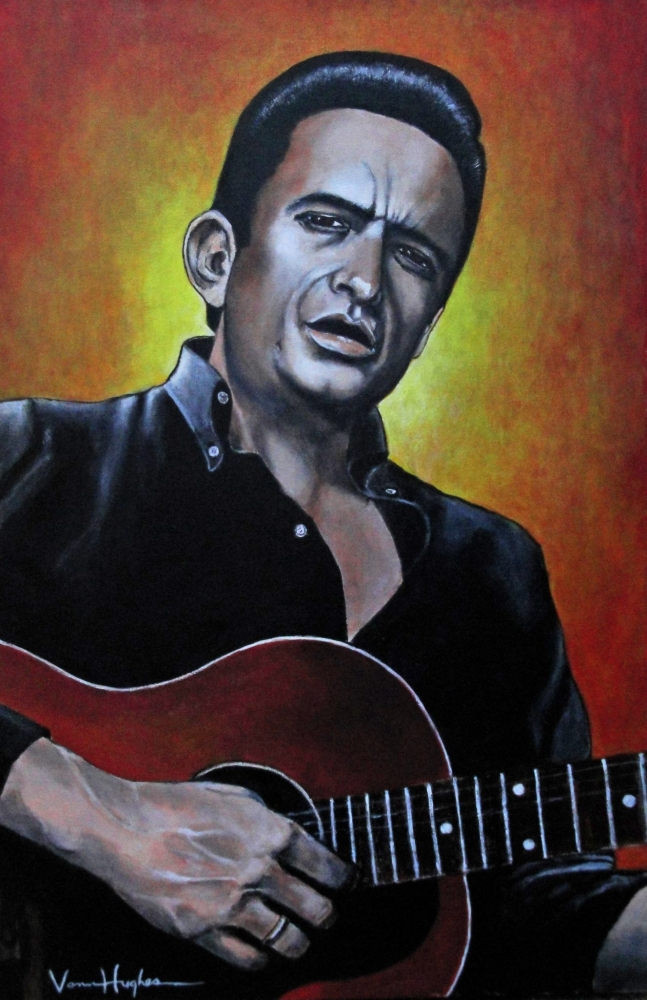 Johnny Cash by Vannagain